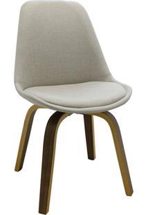Cadeira Decorativa Sala E Escritã³Rio Softline Linho Bege - Gran Belo - Bege - Dafiti