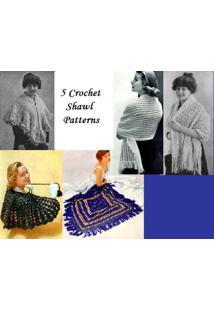 Ebook 5 Padrões De Xale De Crochê