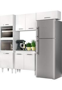 Cozinha Modulada 4 Módulos Composição 4 Branco - Lumil Móveis