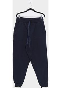 Calça Moletom Maelle Plus Size Feminina - Feminino
