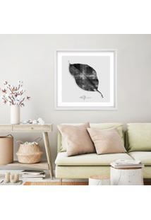 Quadro Com Moldura Rekte Al Lã¡ Supri All Leafman Branco - 50X50 - Multicolorido - Dafiti