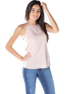 Blusa Com Perolas - Rosa Clarodwz