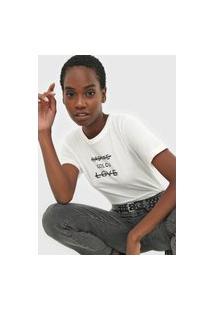 Camiseta Radiate Off-White