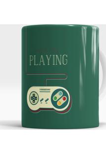 Caneca Keep On Playing