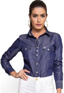 Camisa Principessa Inaraê Azul
