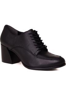 Sapato Oxford Loucos E Santos Em Couro