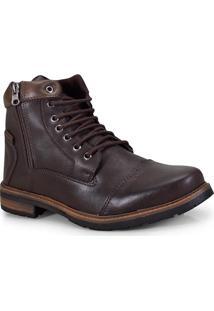 Bota Masc Ped Shoes 5030-B Cafe/Tabaco