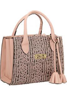 Bolsa Sanfonada Handbag Feminina Rosa Selten
