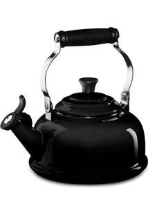 Chaleira Com Apito Le Creuset Black Onyx 1,6L - 16382
