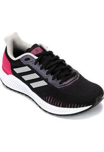 Tênis Adidas Solar Ride Feminino - Feminino-Preto+Pink