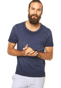 Camiseta Calvin Klein Jeans Estonada Azul