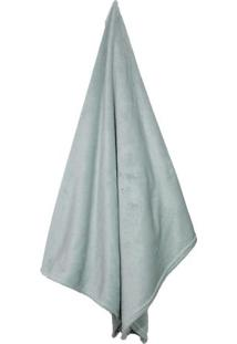 Cobertor Loft Solteiro- Verde ÁGua- 150X220Cm- Ccamesa