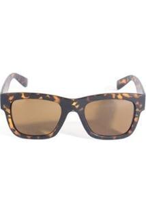 Óculos De Sol Feminino Triton Eyewear - Feminino-Marrom