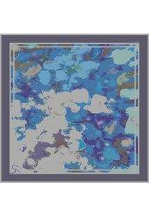 Lenço By Grazie Lenço Monet Azul