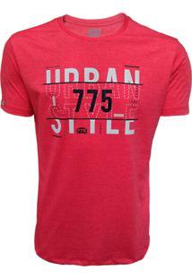 Camiseta 775 Urban Vermelho