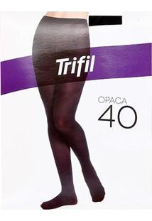 Meia Calça Trifil Opaca - Feminino-Preto