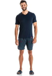 Pijama Clovis Curto - O430 Marine/P