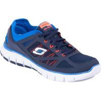 679ae288699 Tênis Life Force - Skechers - Masculino-Marinho+Azul