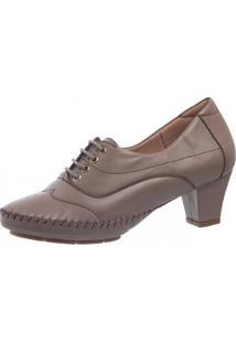 Sapato Casual Doctor Shoes 790 Bege - Bege - Feminino - Couro - Dafiti