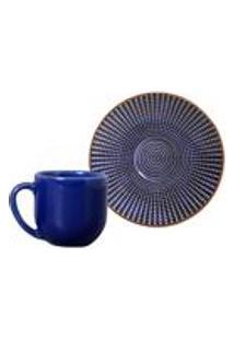 Conjunto C/ 6 Xicaras De Cafe C/ Pires Coup Target 112Ml