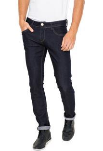 Calça Jeans Fiveblu Reta Amaciada Azul