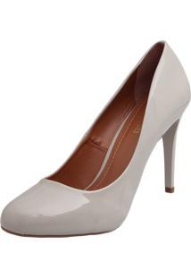 Scarpin Dafiti Shoes Verniz Off-White