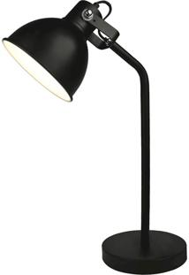 Luminária De Mesa Premier Iluminação, 26X16Cm Metal Preto