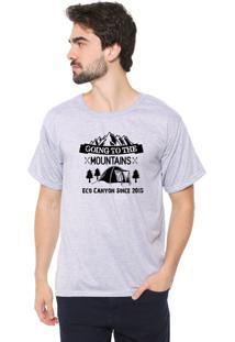 Camiseta Eco Canyon Going Cinza