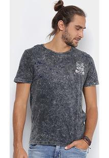 Camiseta Local Gola Careca Lavada Tigre Masculina - Masculino