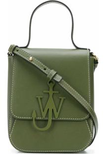 Jw Anderson Top Handle Anchor Bag - Verde