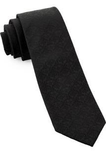 Gravata Slim Black Signature - Spc80