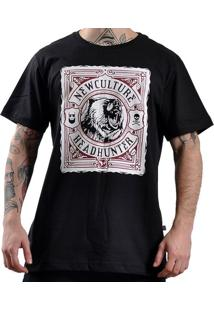 Camiseta New Skate Silk Headhunter