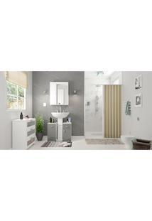Conjunto De Banheiro Decorado Lille