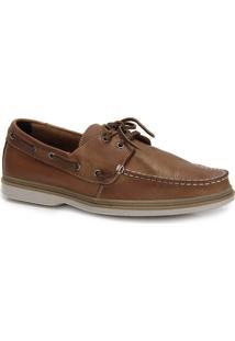 Sapato Dockside Masculino Rafarillo - Caramelo