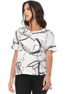 Camiseta Lança Perfume Mullet Branca
