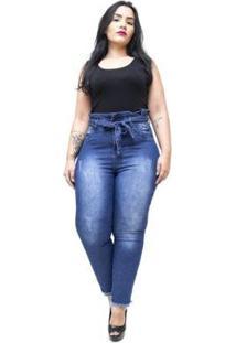 Calça Jeans Meitrix Plus Size Skinny Odilane Feminina - Feminino