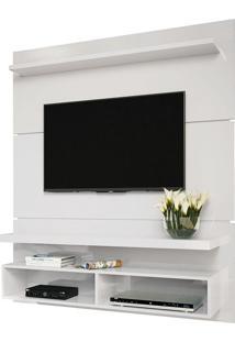 Painel Suspenso Life 1.3 Para Tv Branco Hb Móveis