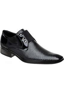 Sapato Masculino Em Couro Verniz Bigioni - Masculino