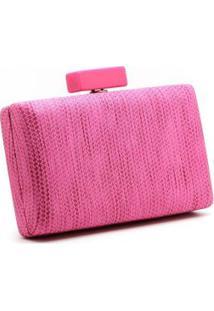 Bolsa Royalz Clutch Aruba Amarelo - Feminino-Pink