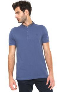 Camisa Polo Mr Kitsch Comfort Azul