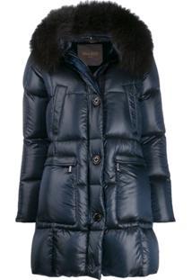 Moorer Combined Puffer Jacket - Azul