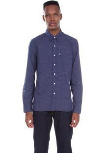 Camisa Levis One Pocket Sunset - Masculino-Azul