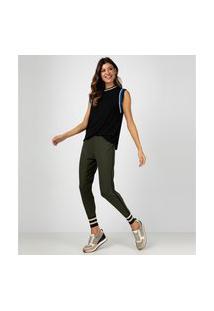 Calça Liz Easywear Jogging Verde Oliva