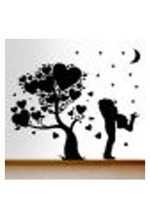 Adesivo De Parede Árvore Casal - Eg 114X98Cm