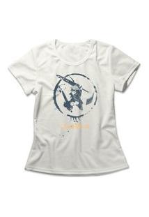 Camiseta Feminina Black Clover Off-White