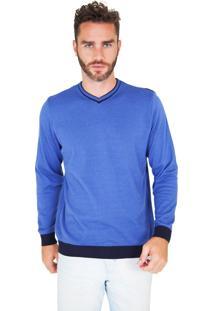 Suéter G'Dom Azul E Marinho