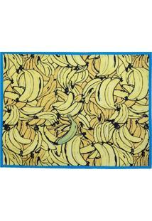 Jogo Americano Novitá Easy Banana Amarelo