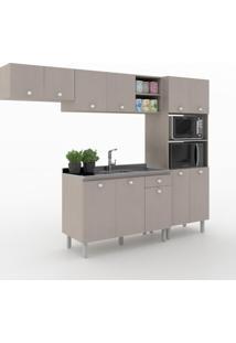 Cozinha Compacta Piazza 11 Portas 1 Gaveta 600025 Moon - Vedere