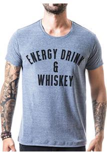 Camiseta Liferock Lr11.28 Azul