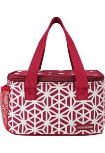 Bolsa Térmica - Bordô & Branca - 13X21,5X13Cmjacki Design